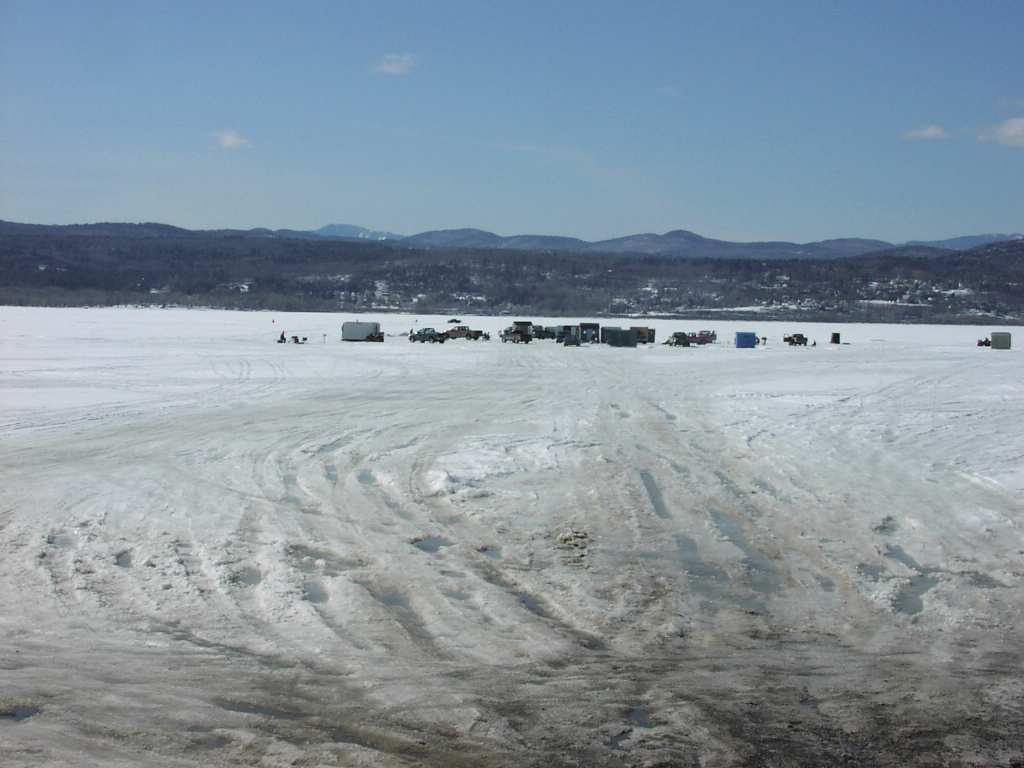 Lake Champlain at Crown Point